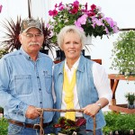 Jerry and Cindy Kopecky, owners of The Potting Shed in Faulkton. Submitted photo