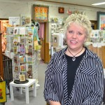 Lori Holt, owner of Quilter's Corner in Faulkton. Photo by Troy McQuillen