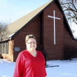 The Rev. Nancy Manning serves a three-point parish—United Methodist Church in Britton, Claremont (S.D.) United Methodist and Hecla (S.D.) United Methodist. Photo by The Britton Journal
