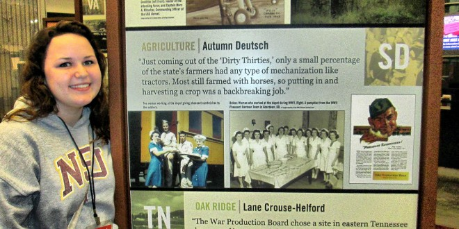 Autumn Deutsch chosen to represent South Dakota at WWII Museum opening