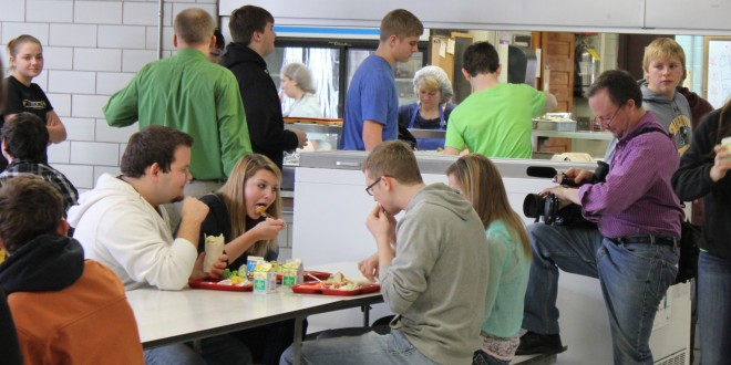Faulkton student's work against obesity attracts film crew