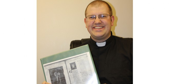 Pastor earns second master's degree after 1,100-year-old Bible study