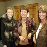 Becky Weber, Susan Wismer and Molly Andresen, Britton Bookkeeping and Tax