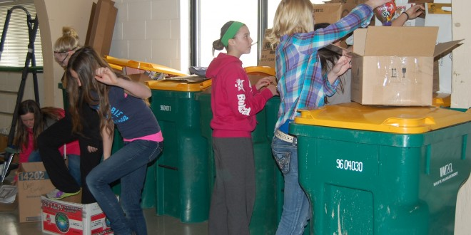 Small Town of Gwinner Supports Recycling in a Big Way