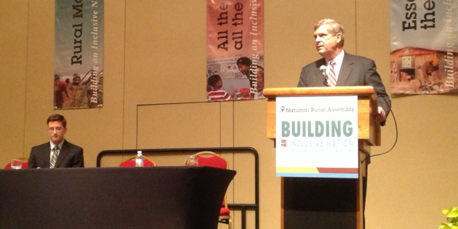 Vilsack tells rural advocates to make their case for rural America