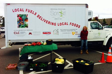 Regional food hubs give farmers access to bigger customers