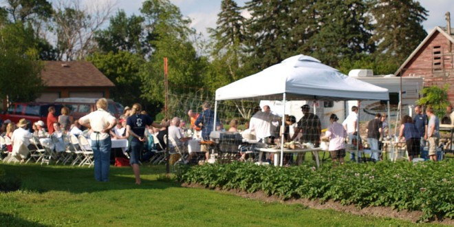 What's possible: Venture brings local food lovers around farmyard table