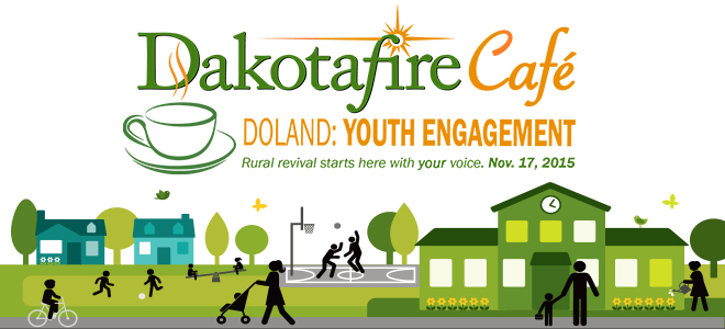 Join the conversation on youth engagement in Doland Nov. 17