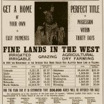 The Dakotas' complicated history. From Wikipedia: https://upload.wikimedia.org/wikipedia/commons/b/bf/Indian_Land_for_Sale.jpg