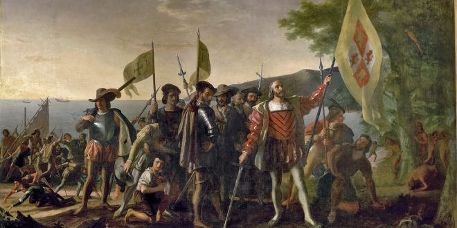 Columbus Day an example of clashing histories