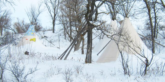Winter was part of the rhythm of life on the prairie for tribes in the 1800s